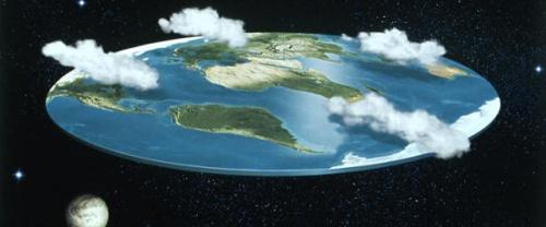 Flat jord