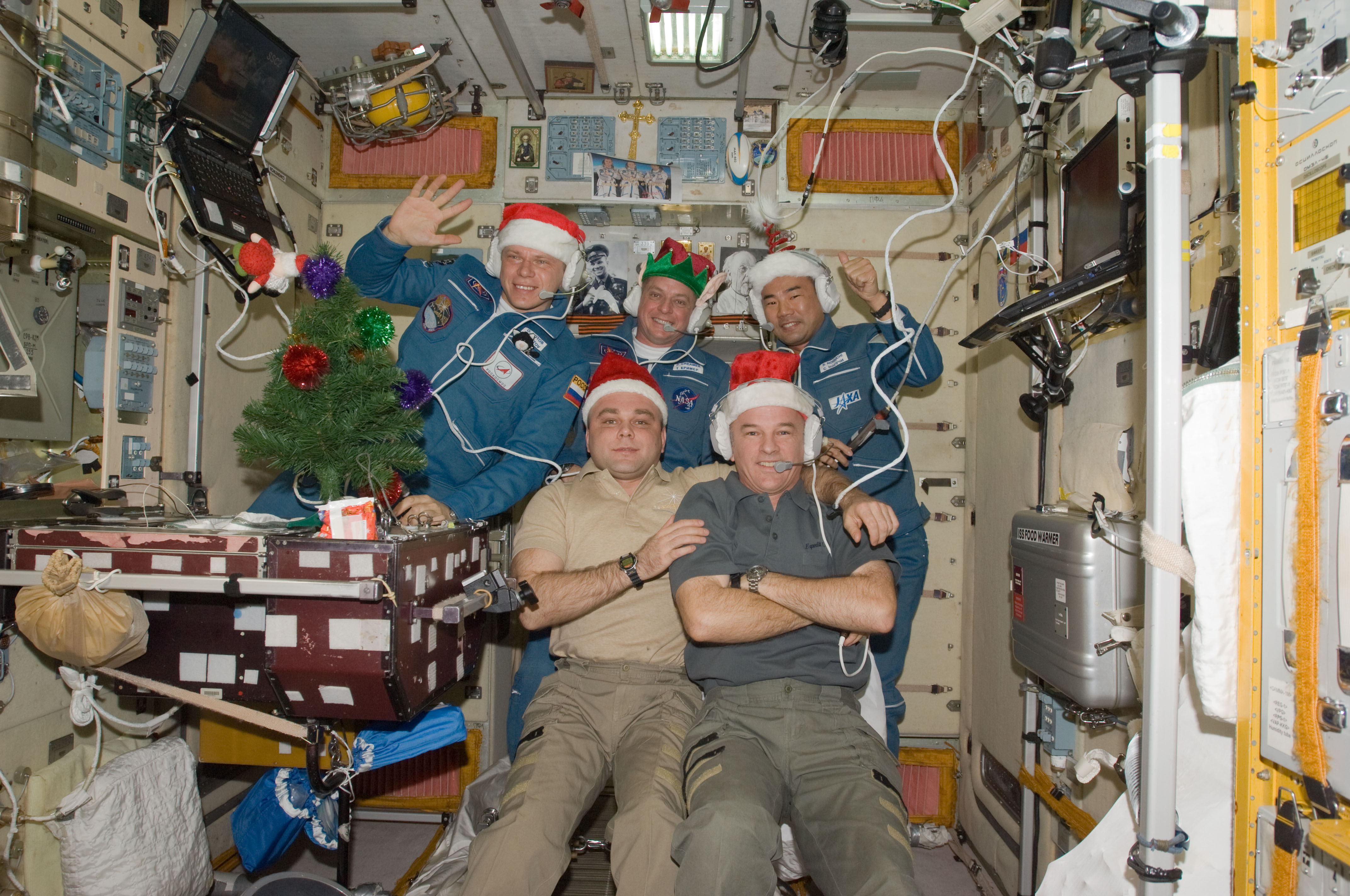 ISS_christmas_2009